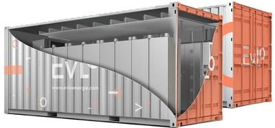 Un sistema de almacenamiento de energía EVLO. (CNW Group/Hydro-Québec)