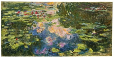 Monet's Le Bassin aux nymphéas (1917-19) fetched $70.4 million at Sotheby's on 12 May 2021