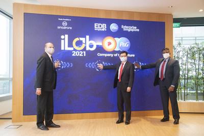 Deputy Prime Minister Heng launching P&G's iLab 2021