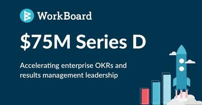 WorkBoard recauda USD75millones de SerieD (PRNewsfoto/WorkBoard)