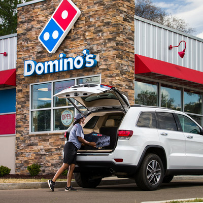 Domino's and DraftKings have launched Domino's Carside Delivery 2-Minute Guarantee Over/Under Challenge as well, giving customers the chance to predict if Domino's Carside Delivery nationwide will be quicker than two minutes, more or less than 80% of the time, for the chance to win a share of $200,000.