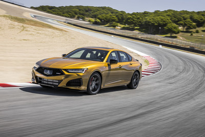 2021 Acura TLX Type S Races into Acura Dealers Nationwide