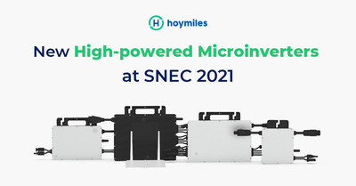 New High-powered Microinverters at SNEC 2021