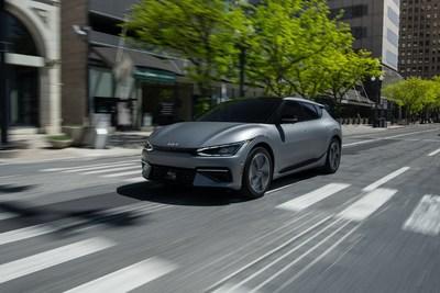 """Kia America reabrirá el sitio web de reservaciones para la """"primera edición"""" del vehículo totalmente eléctrico EV6 (PRNewsfoto/Kia America)"""