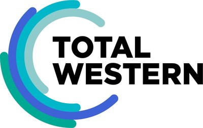 Total-Western's new logo and brand colors.