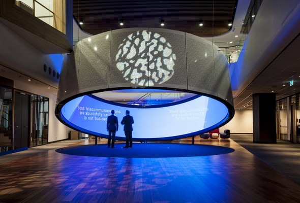 Telstra Customer Experience Centre, Sydney, AU (Downstream)